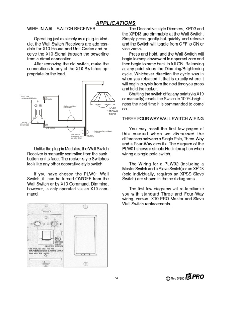 Download 2 Way Switch Wiring Diagram Single Pole 3 4