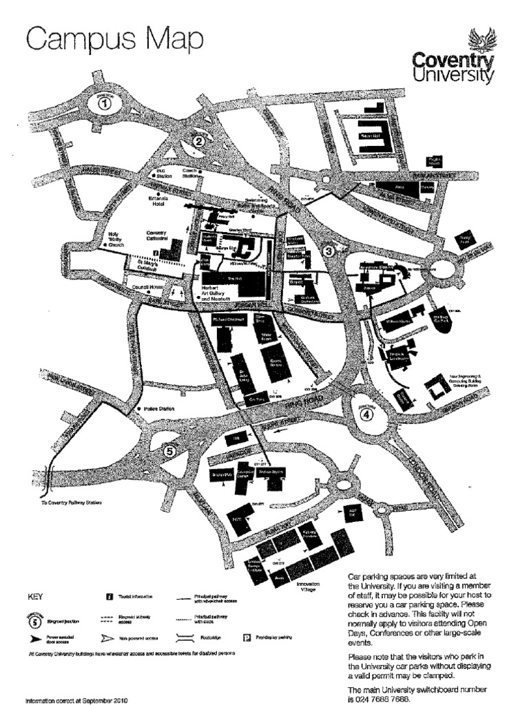 Coventry University Campus Map Coventry University Campus Map   DocShare.tips Coventry University Campus Map
