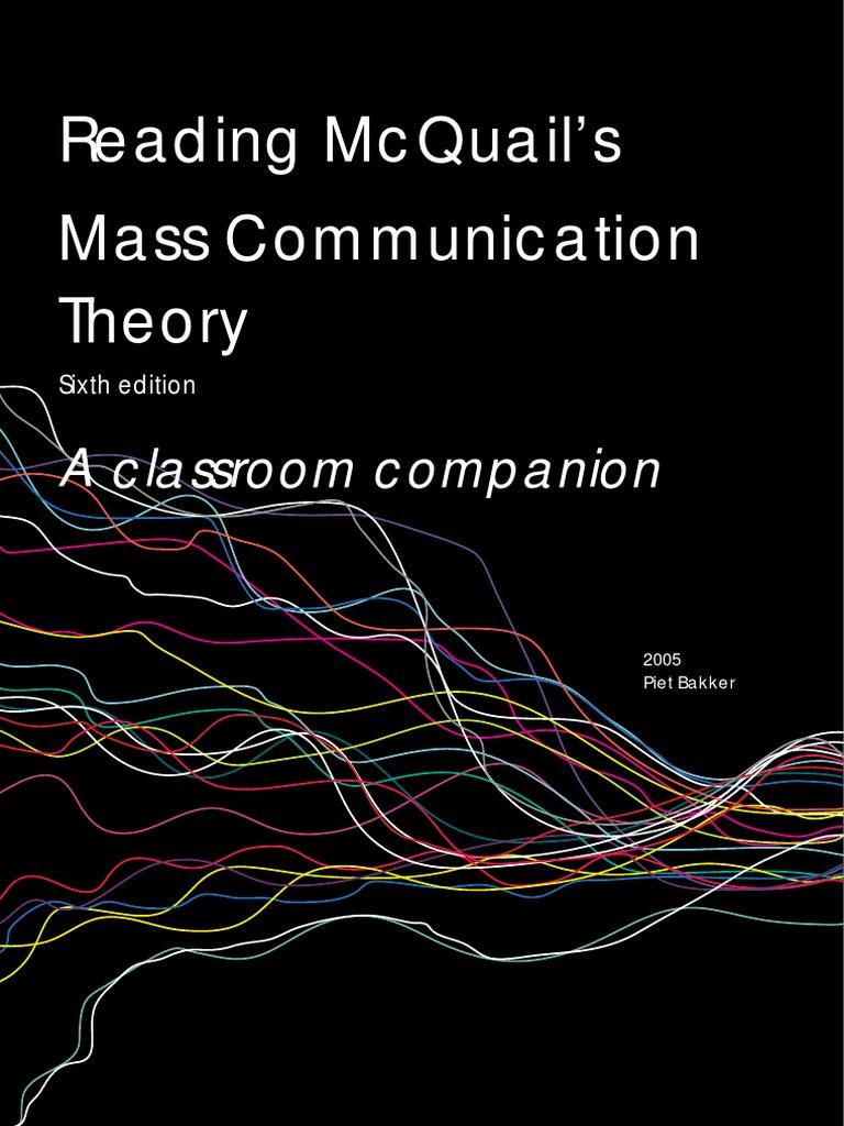 Mass Communication Theory Pdf