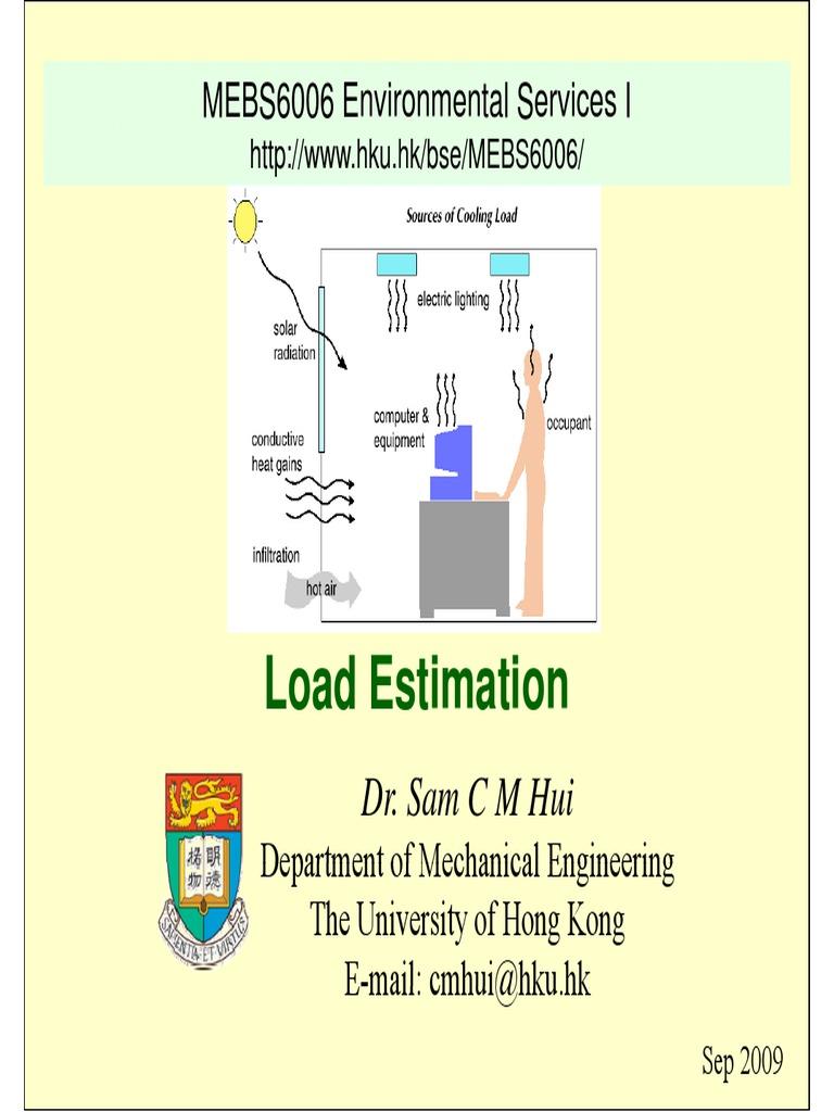 HVAC Load Estimation - DocShare.tips