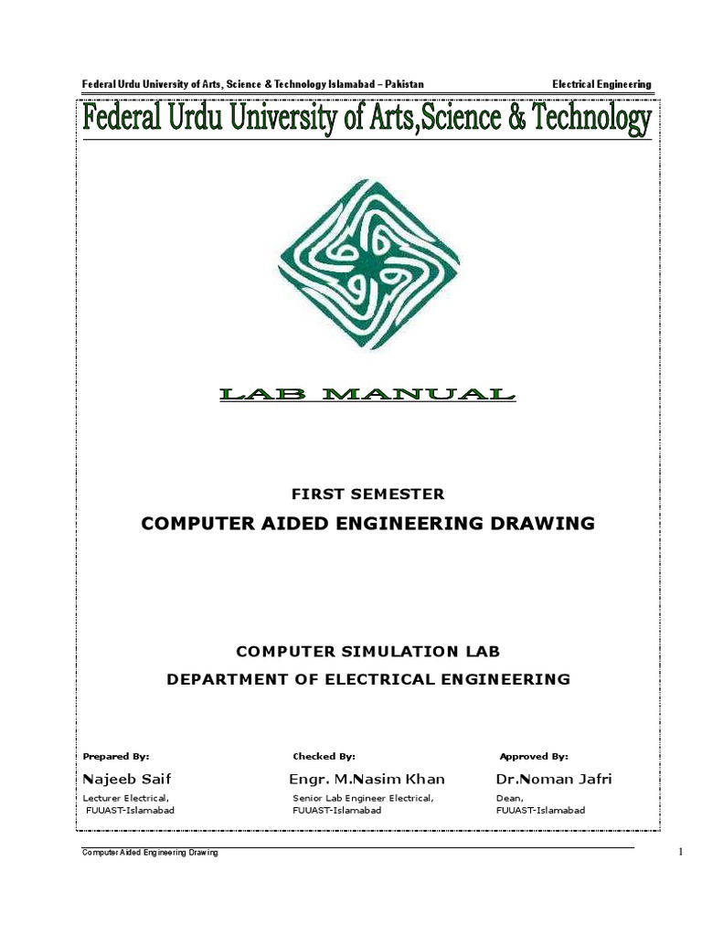 Download 1computer Aided Electrical Drawing Syllabus Diagram Simulator Computer Engineering Cad