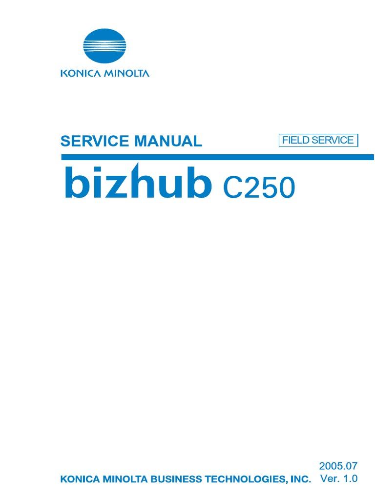 Konica minolta 350 Service Manual Fs 534
