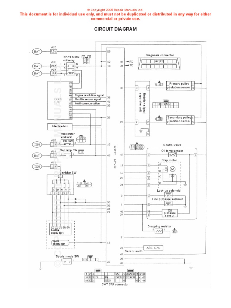 Nissan Cvt Diagram Opinions About Wiring Juke Diagrams Docshare Tips Rh Valve Body