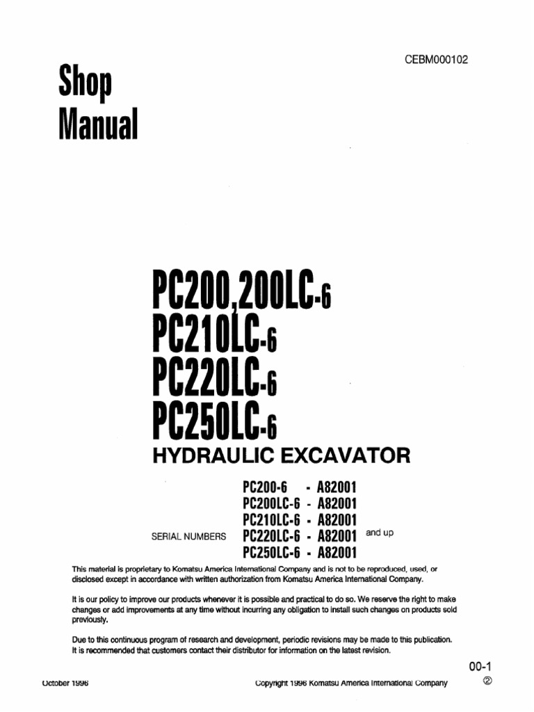 Komatsu Wiring Diagram Pc200 Radio 6 Expert Schematics Shop Manual Docshare Tips Air Conditioning