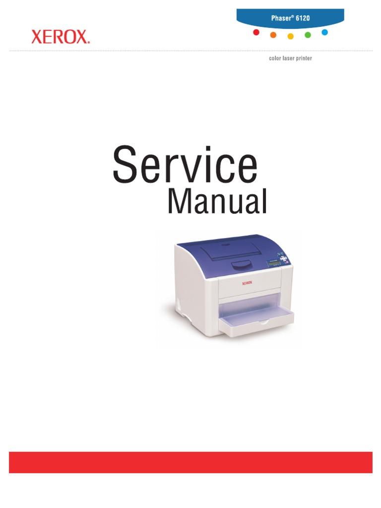 Xerox Phaser 6120 Service Manual - INBA.INFO