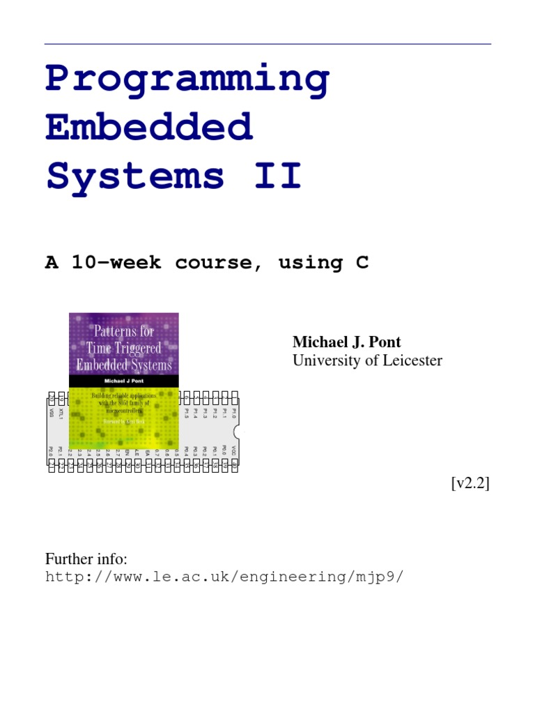 Patterns For Time Triggered Embedded Systems Pdf