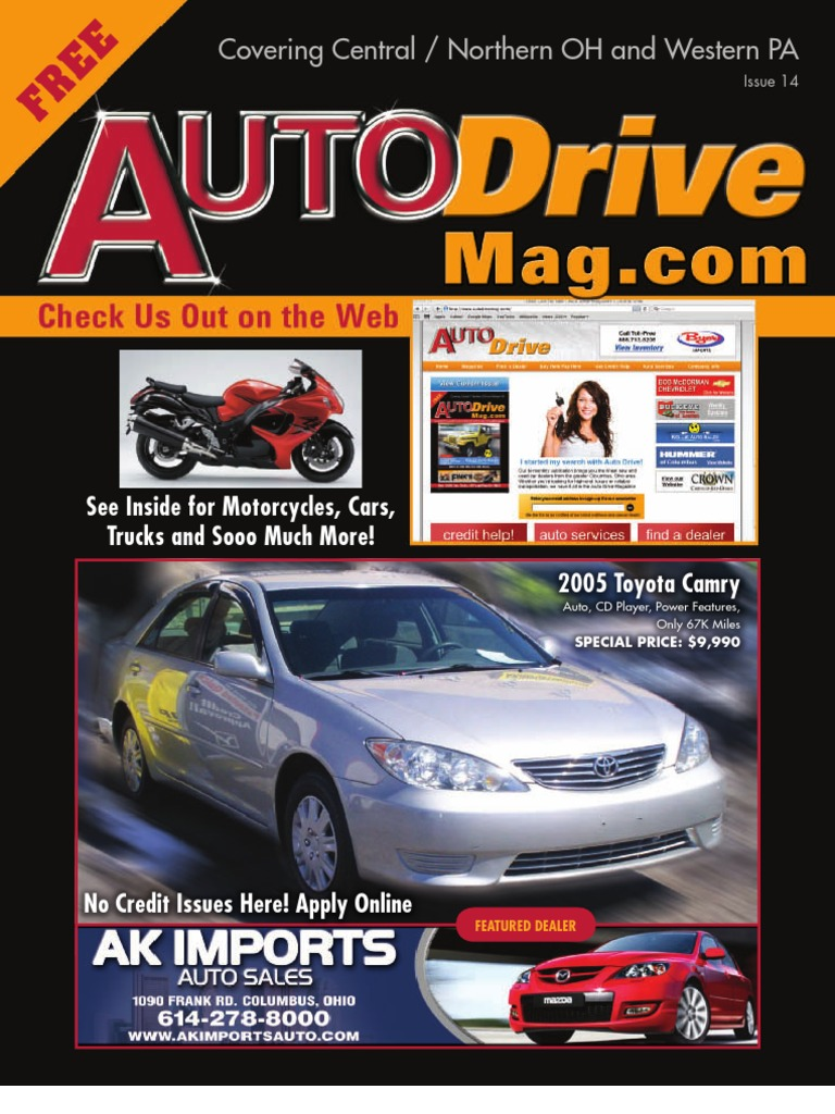 Auto Drive Magazine Issue 14 Buick Rendezvous Cxl 2002 Electric Seat Issues