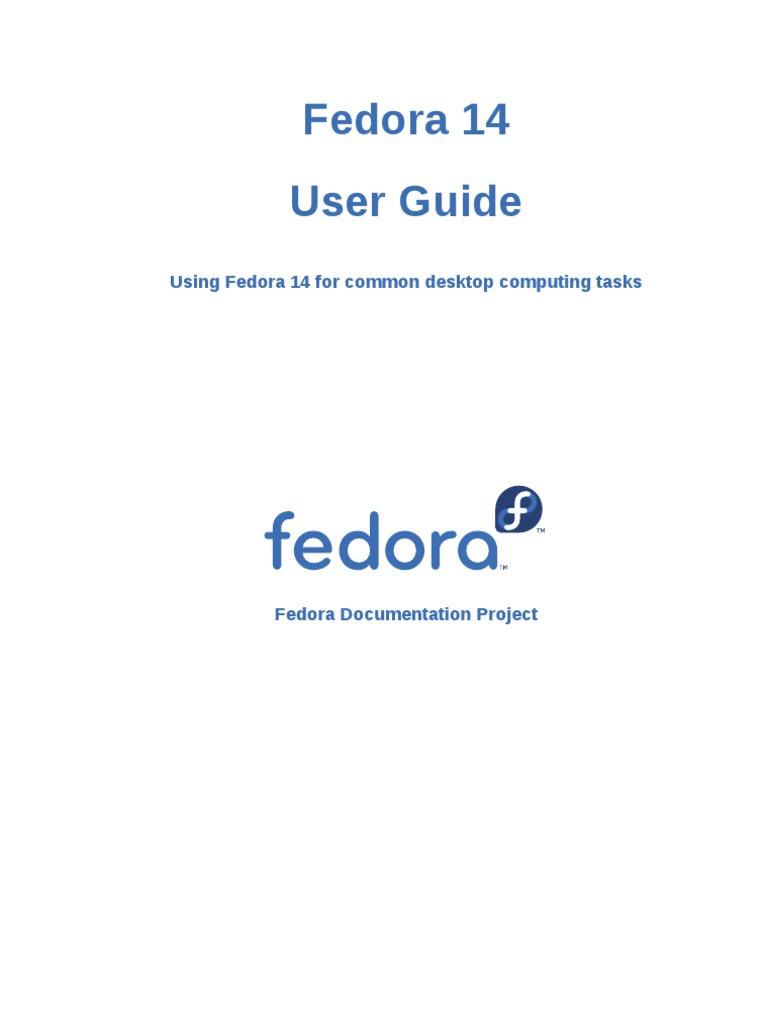 Fedora 14 User Guide en US - DocShare.tips