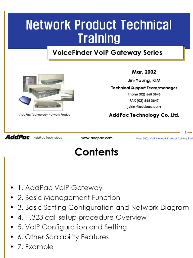 Download Addpac Voip Gateway Training Guide An Overview
