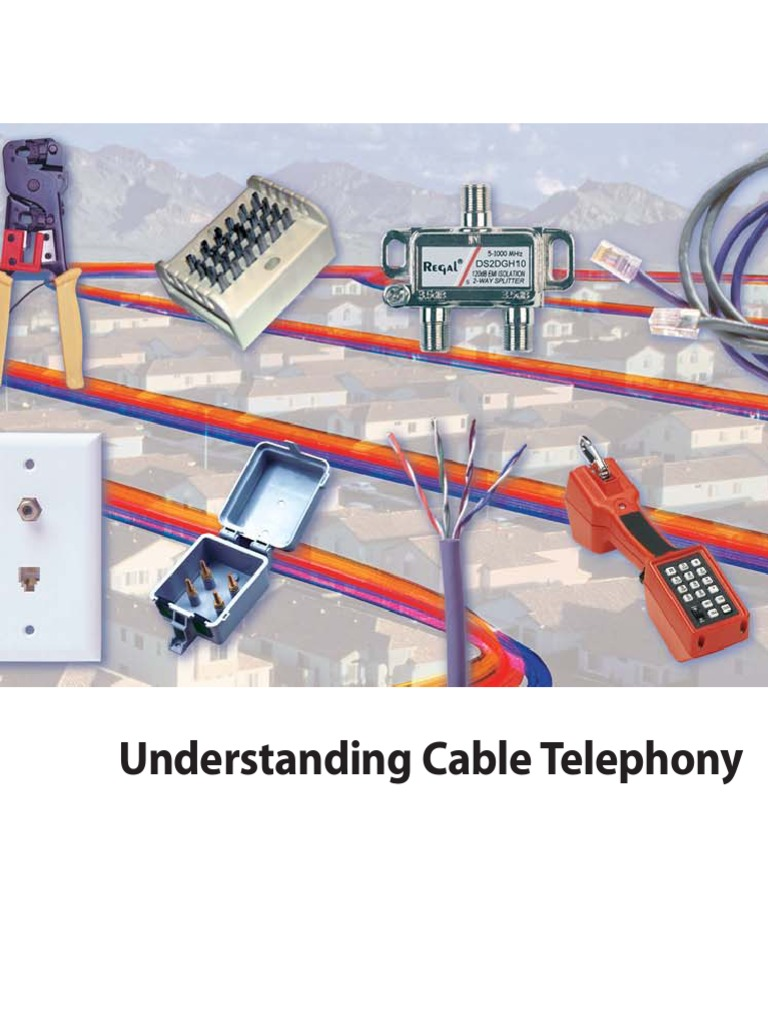 Understanding Cable Telephony Catv Wiring Data And Basement
